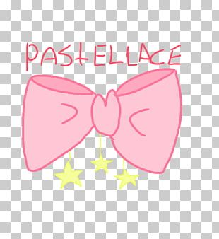 Bow Tie Pink M Line PNG