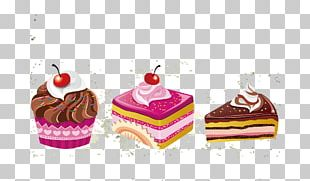 Ice Cream Cupcake Petit Four Bakery PNG