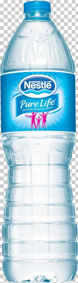 Nestlé Pure Life Mineral Water Nestlé Waters North America Bottled Water PNG