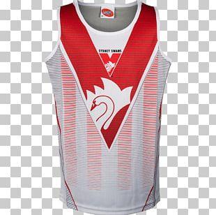 Sydney Swans Jersey Australian Football League T-shirt Sleeveless Shirt PNG