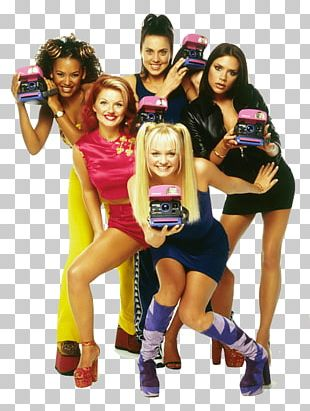 The Spice Girls Polaroid PNG