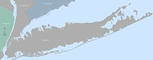 Queens Suffolk County Long Island Expressway Map PNG
