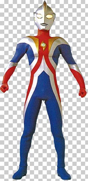 Superhero Costume Newspaper Extra Ultraman Electric Blue PNG