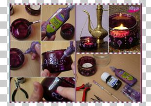 Crock Glass Candle Jar Lantern PNG