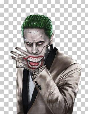 Jared Leto Joker Harley Quinn Suicide Squad Batman PNG