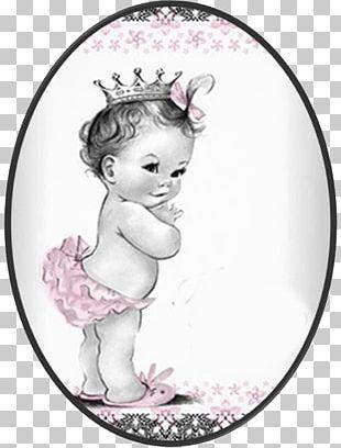 Baby Shower Infant Wedding Invitation Princess Convite PNG