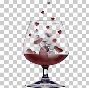 Red Wine Friendship Friterie Glass Bottle PNG