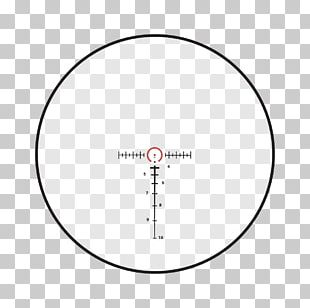 Reticle Telescopic Sight Red Dot Sight Milliradian Reflector Sight PNG