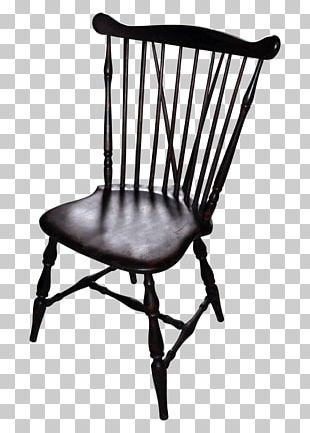 Table Windsor Chair Spindle Dining Room PNG