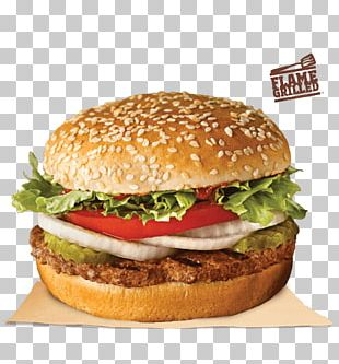 Whopper Veggie Burger Fast Food Cheeseburger Buffalo Burger PNG