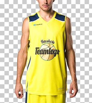 Jersey T-shirt Sleeve Basketball Uniform PNG