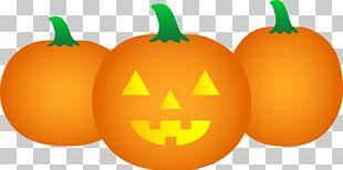 Pumpkin Jack-o-lantern Cartoon Halloween PNG