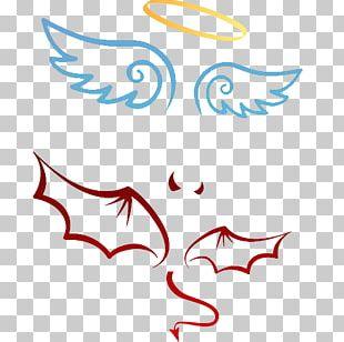 Devil Angel Michael Illustration PNG