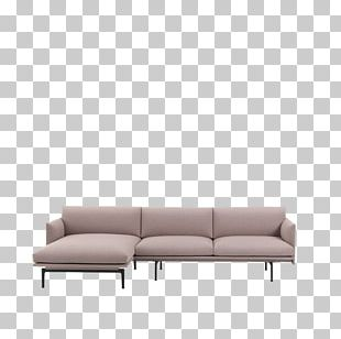 Couch Chaise Longue Muuto Furniture Chair PNG