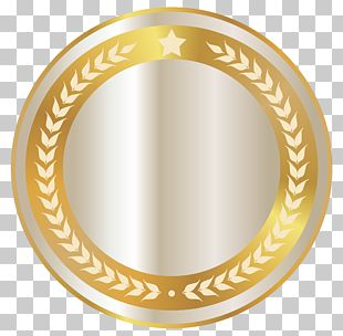 Gold Badge PNG