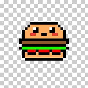 Pixel Art Hamburger Et Frite