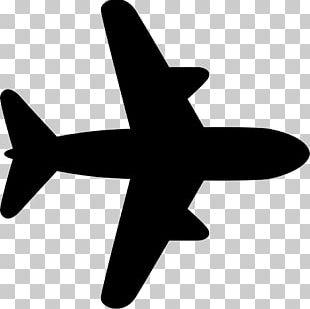 Airplane ICON A5 Computer Icons Black Plane Free Flight PNG
