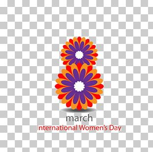 International Womens Day March 8 Woman PNG
