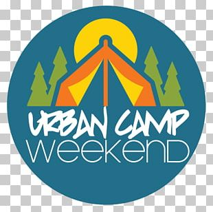 Camping Summer Camp Austin Party Logo PNG