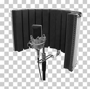 Microphone Stands Pop Filter Recording Studio Stage PNG