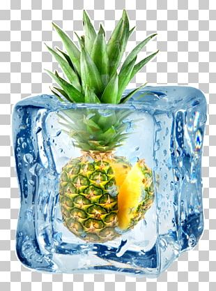Ice Cream Ice Cube Pineapple Stock Photography Juice PNG