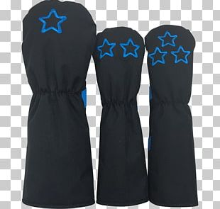Dress Sleeve Electric Blue PNG