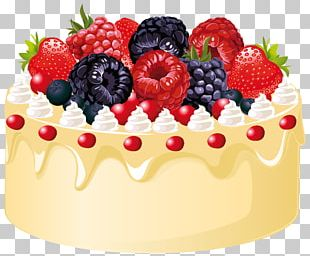 Fruitcake Birthday Cake Christmas Cake PNG