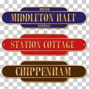Train Station Rail Transport Logo Railway Platform PNG