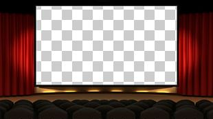 Cinema Projection Screens Auditorium Theater Drapes And Stage Curtains PNG