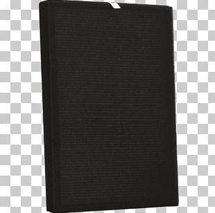 Wallet Rectangle Black M PNG