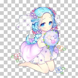 Fairy Pink M Doll PNG