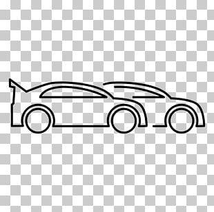 Car Auto Racing Drawing PNG