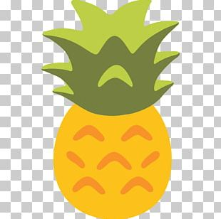 Emoji Upside-down Cake Pineapple Pizza Salsa PNG