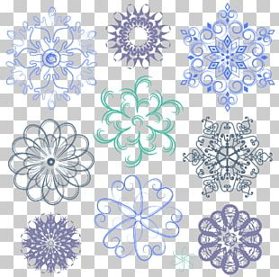 Snowflake Euclidean Stock Photography PNG