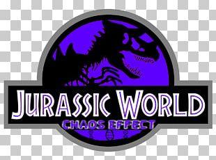 Jurassic Park Logo Velociraptor YouTube PNG