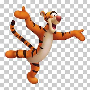 Kingdom Hearts II Kingdom Hearts: Chain Of Memories Eeyore Winnie The Pooh Tigger PNG