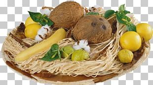 Food Auglis Fruit Coconut Banana PNG