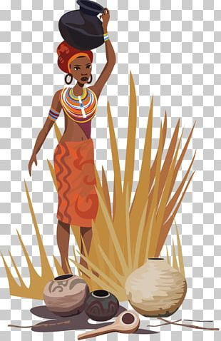 Africa Cartoon Illustration PNG