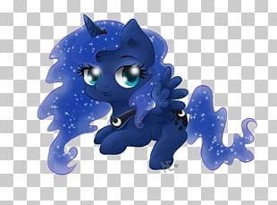 Horse Cobalt Blue Figurine Mammal PNG