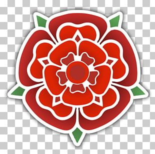 Blackpool Red Rose Of Lancaster Tudor Rose Driveway PNG