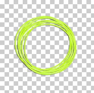 Body Jewellery Circle Line Wire Font PNG