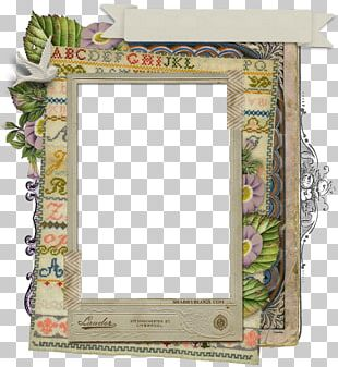 Frames Paper Shabby Chic Scrapbooking Embroidery PNG
