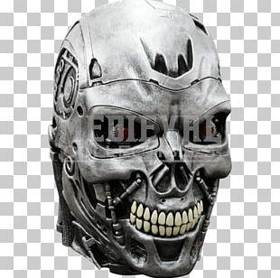 Terminator T-600 Suit Performer Sarah Connor Skynet Mask PNG