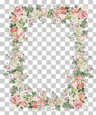 Flower Rose Floral Design Wreath PNG