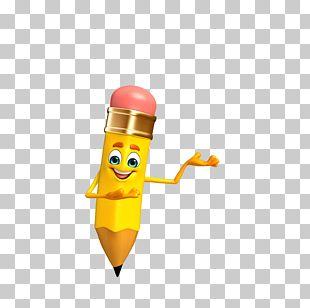 Pencil Sharpener Cartoon Character Illustration PNG