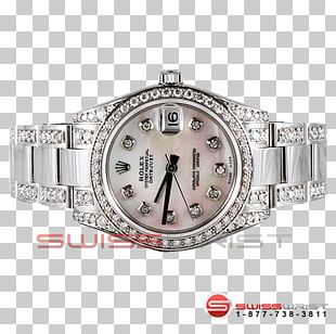 Rolex Datejust Watch Strap Bling-bling PNG