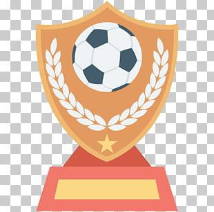 Trophy Football Icon PNG