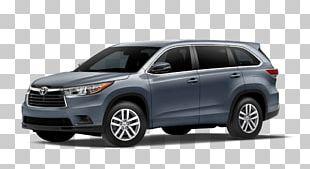 2014 Toyota Highlander Luxury Vehicle Car Sport Utility Vehicle PNG