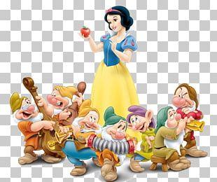 Snow White Seven Dwarfs Bashful Grumpy PNG
