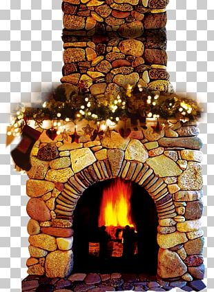 Fireplace Wood-burning Stove Chimney Living Room PNG